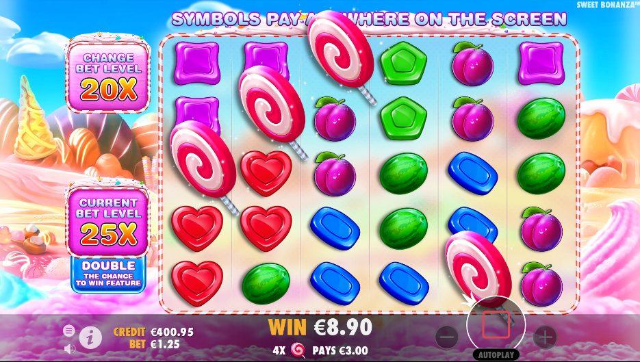 Sweet Bonanza at netbet casino