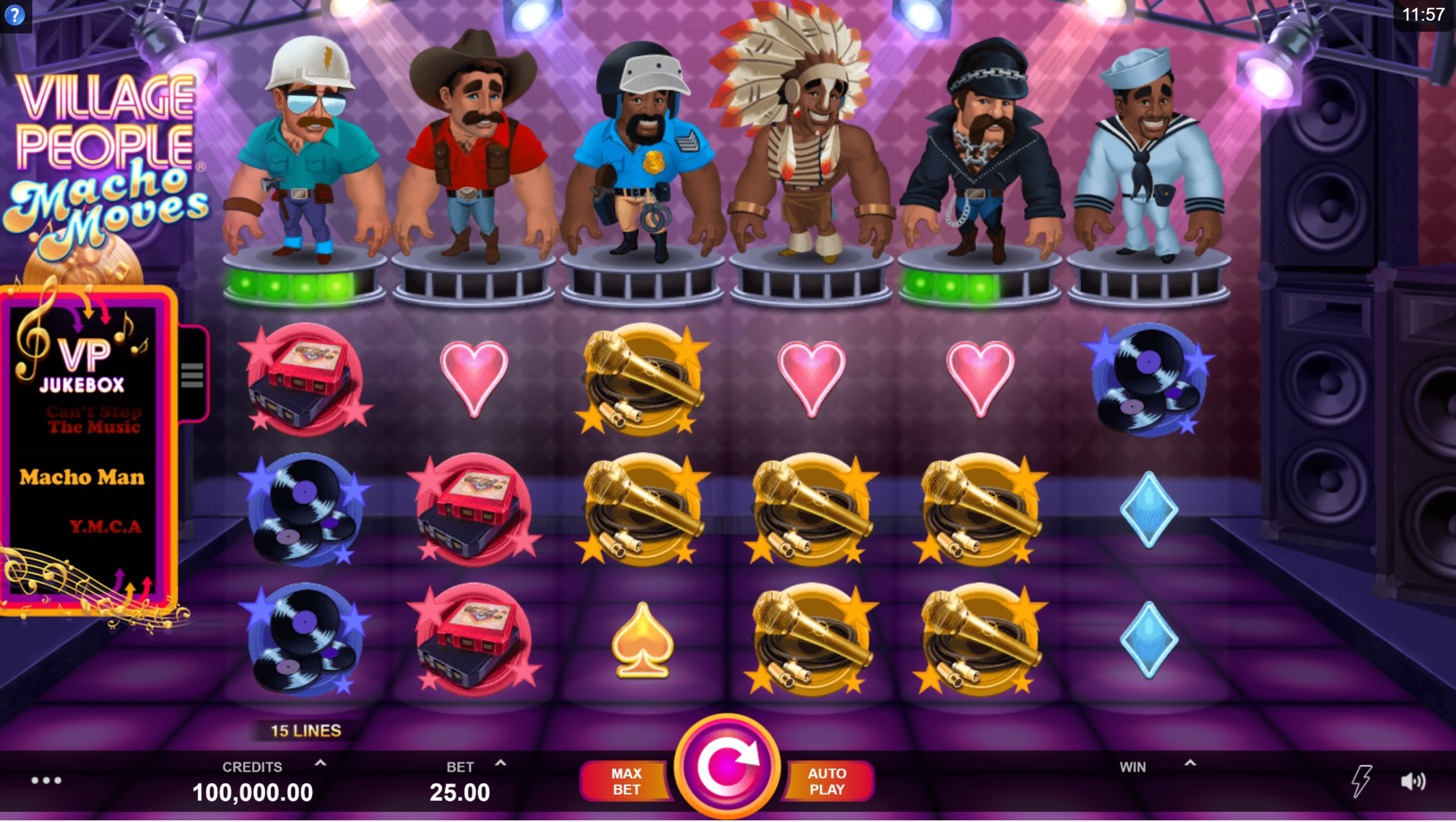 Village People: Macho Moves at sapphire rooms