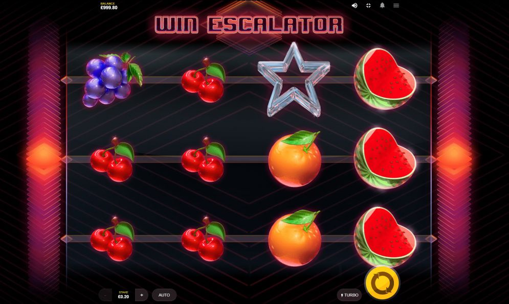 Win Escalator at genesis casino
