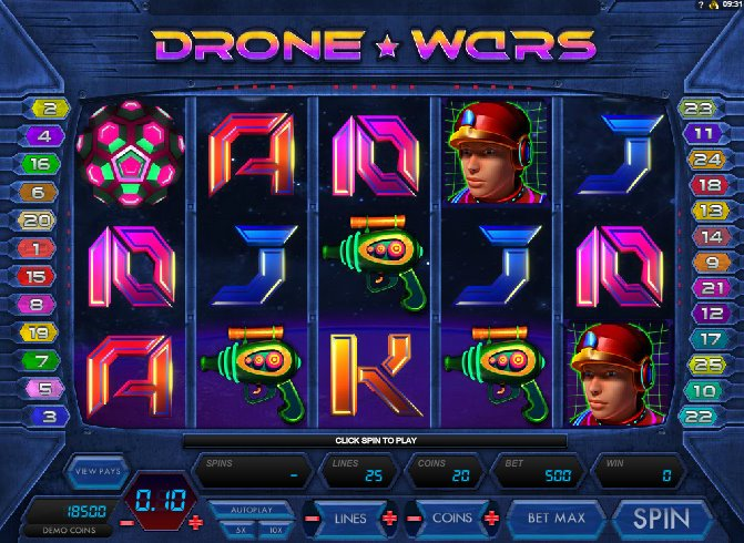 Drone Wars at conquer casino