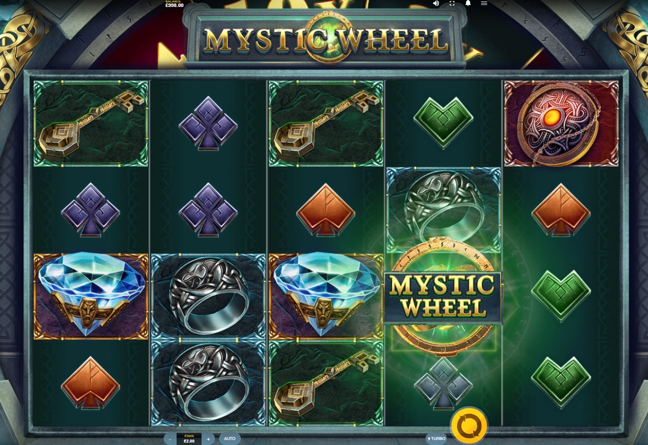 Mystic Wheel at scorching slots