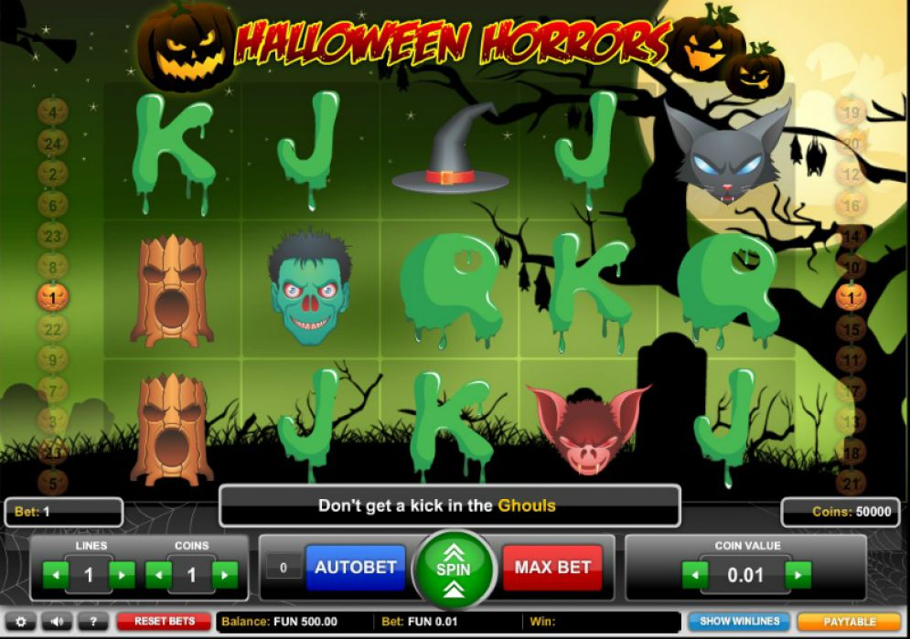 Halloween Horrors at bcasino