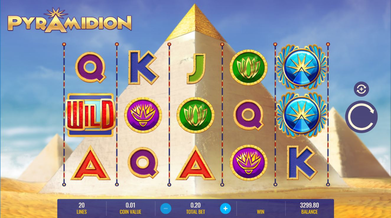 Pyramidion at netbet casino