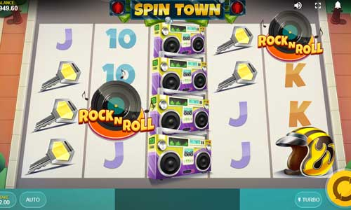 Spin Town at spins royale