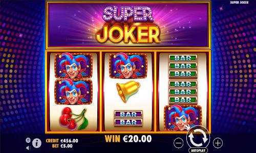 Super Joker at kerching casino