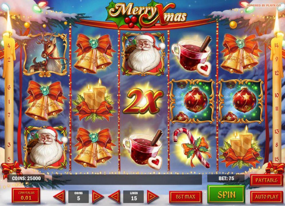 Merry Xmas at royal house casino