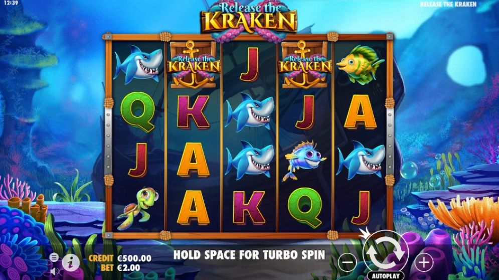 Release the Kraken at jackpot jones